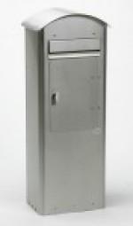 Briefkasten SafePost 70-5 Combi Edelstahl