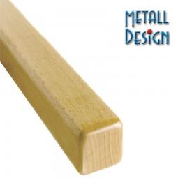 Handlauf Buche Vierkant 40 x 40 mm Stab Länge auf Maß gefertigt