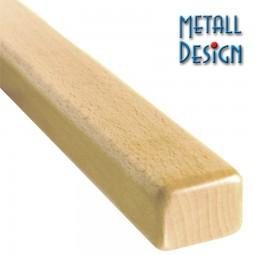 Handlauf Buche Rechteck 30 x 50 mm Stab Länge auf Maß gefertigt
