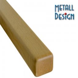 Handlauf Eiche Vierkant 40 x 40 mm Stab Eiche Länge auf Maß gefertigt