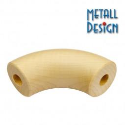 Handlauf Holz Bogen Ahorn