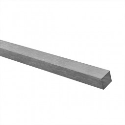 Vierkantstab-Edelstahl Zuschnitte auf Maß 12 x 12 mm