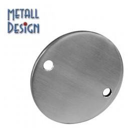 Ankerplatte Edelstahl rund mit Bohrung 11 mm