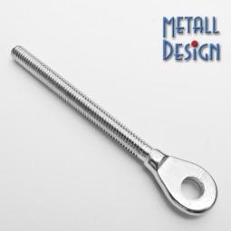 Augenschraube Metallgewinde V4A Edelstahl