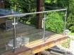 Edelstahl-Geländer-Glas-Bausatz