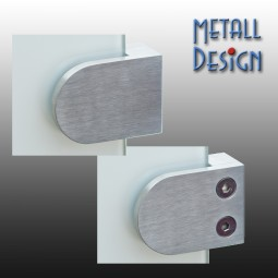 Glashalter Edelstahl Bauform G03 gerader Anschluss