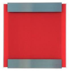 Briefkasten 07 1120 Glasnost - red von Keilbach Design