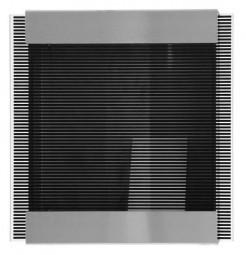 Briefkasten 071111 Glasnost Glas black-stripes von Keilbach Design