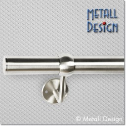 Handlauf Edelstahl DS04 Kugelring auf Maß gefertigt