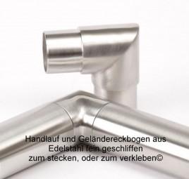 Handlauf Eckbogen Edelstahl