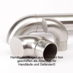 Handlaufendbogen Edelstahl