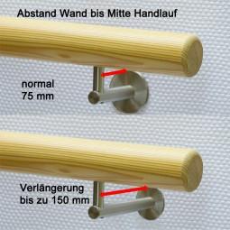 Verlängerung Handlaufhalter Holzhandlauf