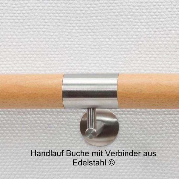 MUlltonnenbox Aus Holz Und Edelstahl ~ Handlauf Holz, Handlauf Edelstahl, Geländer Edelstahl gefertigt auf