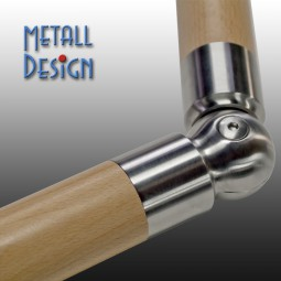 Gelenk-Verbinder für Holz-Handlauf