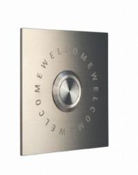 Klingelplatte 08 1004 aus Edelstahl von Keilbach Design