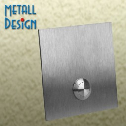 Klingelplatte-Edelstahl DS01