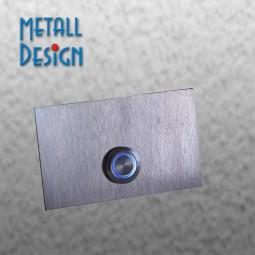 Edelstahl-Klingelplatte DS06 beleuchtet