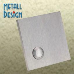 Klingelplatte-Edelstahl DS10 massive 6 mm