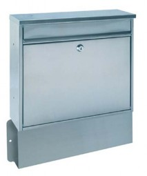 Briefkasten Edelstahl T03664 Hochhaus II-Set Box inklusive