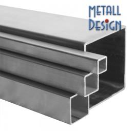 Vierkantrohr-Edelstahl 40 x 40 x 2 mm Zuschnitte auf Maß